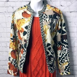 Chico's Fall Hook and Eye Jacket